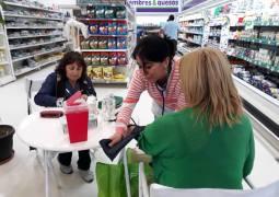Jornadas de prevención de diabetes en Patagones