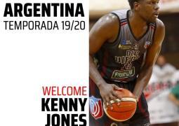Kenneth Jones vuelve a Viedma