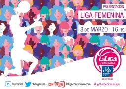 El lanzamiento de #LigaFemeninaLaCaja, en vivo por La Liga Contenidos