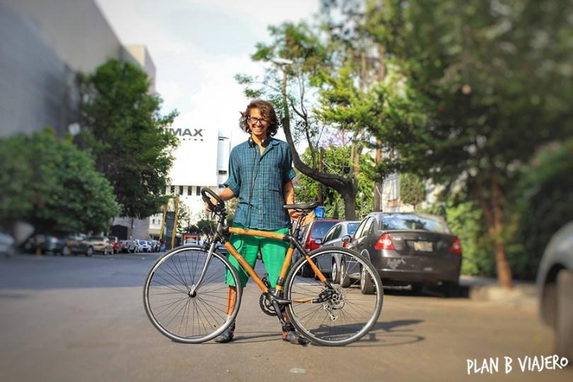 plan b viajero, viaje en bicis de bambu, hacer una bici de bambu, bamboocycles