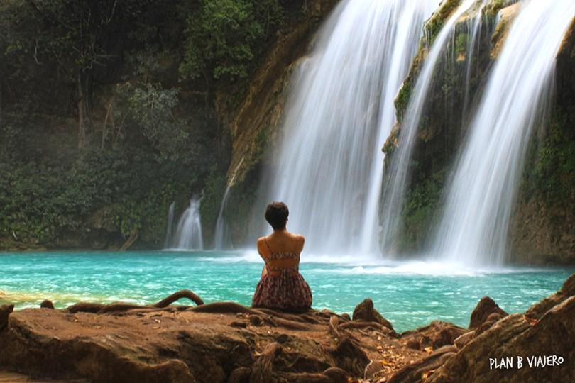 plan b viajero, cascadas imperdibles de chiapas, cascadas el chiflon, cascada ala de angel