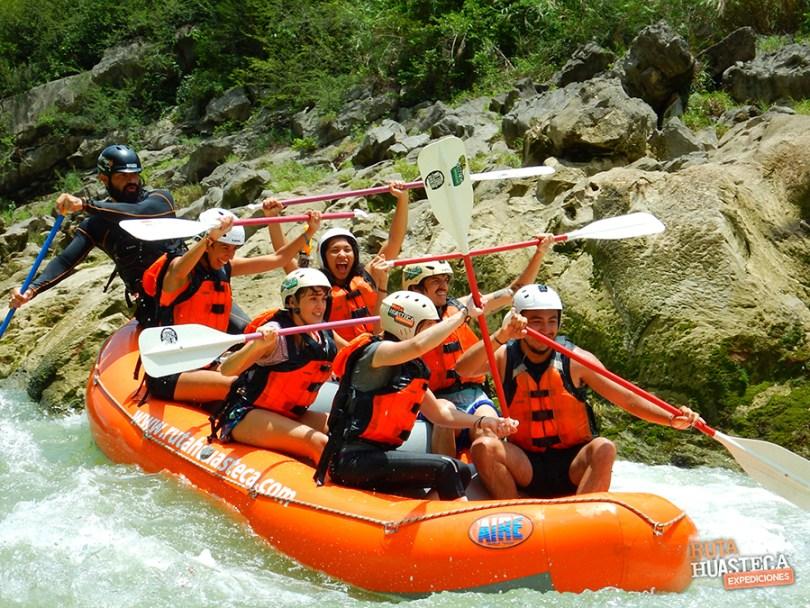 plan b viajero, rafting rio tampaon, ruta huasteca