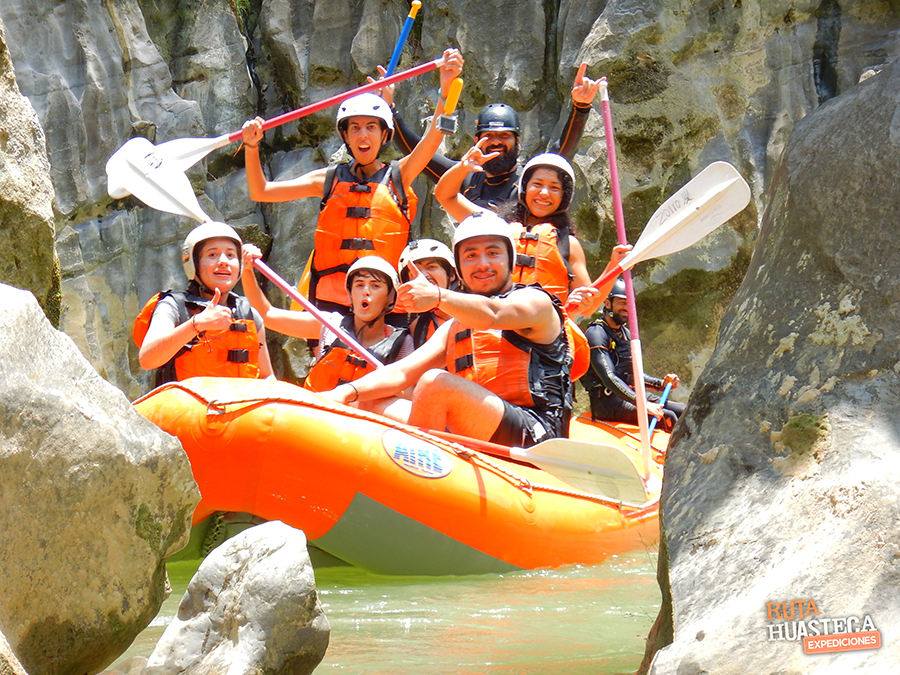plan b viajero, ruta huasteca, rafting en rio tampaon, huasteca potosina