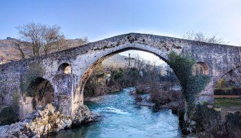 Brücke in Asturias, Cangas de Onis