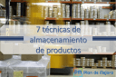 7 técnicas de almacenamiento de productos