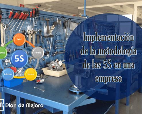 Implementación de la metodología de las 5S