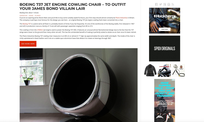 Silodrome Press Release Plane Industries