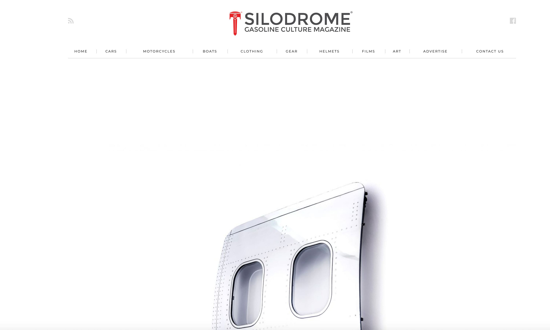 Silodrome Boeing Fuselage Wall Art