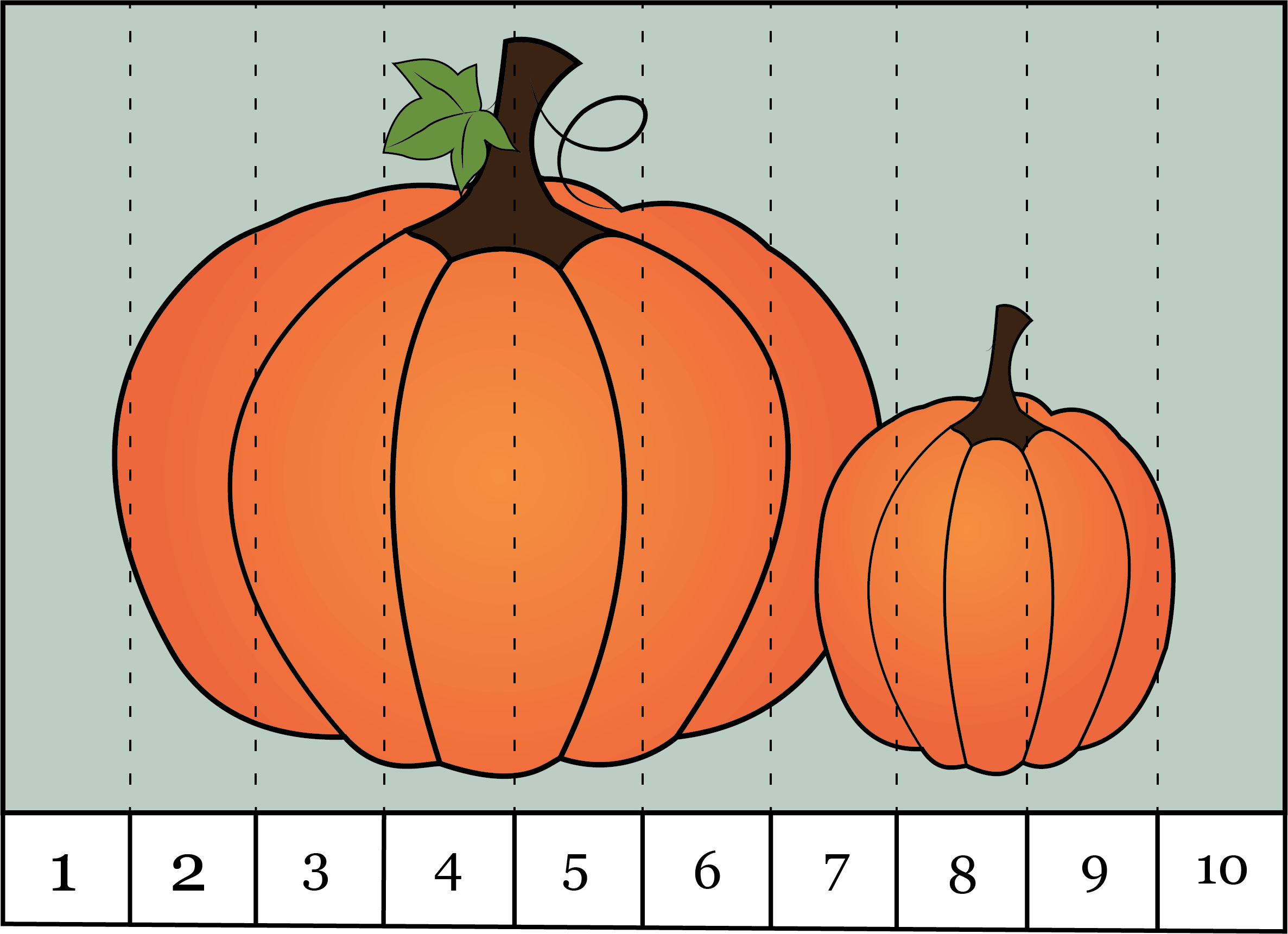 Number Order Puzzles To Practice Counting Skip Counting