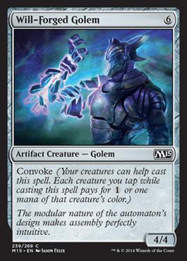 Will Forged Golem Magic 2015 M15 Magic The