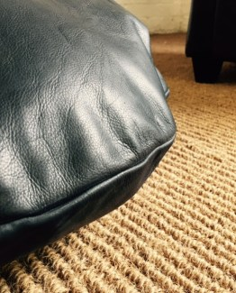 blk leather floor chsh 1