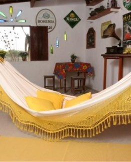 yellow f hammock