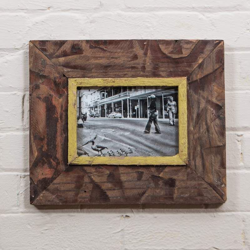 A5 Distressed Recycled Wooden Picture Frame / Photo Frame Natural ...