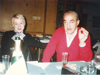 Valorie Hart and Felix Picherna at Sunderland