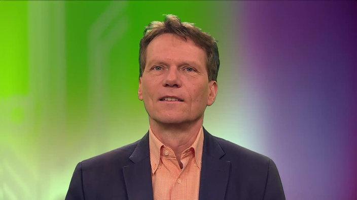 Porträtaufnahme von Prof. Dr. Hartmut Rosa.