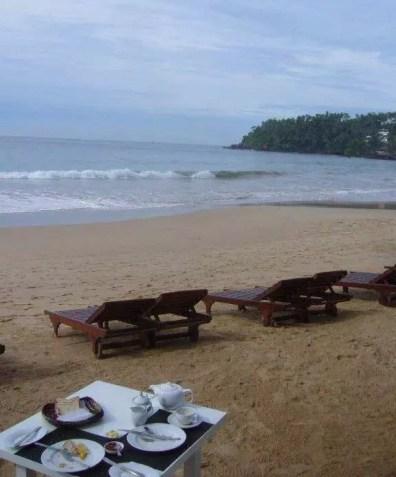 Pohoda na plážích na Srí Lance