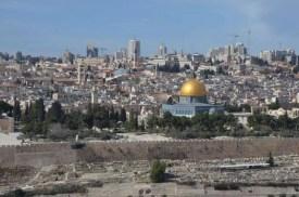 Jeruzalém: výhled na město