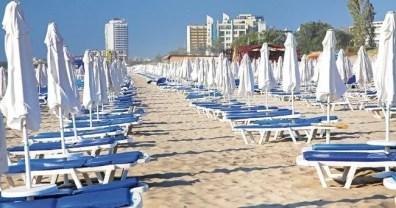 Pláž Bulharsko Slunečné pobřeží dovolená