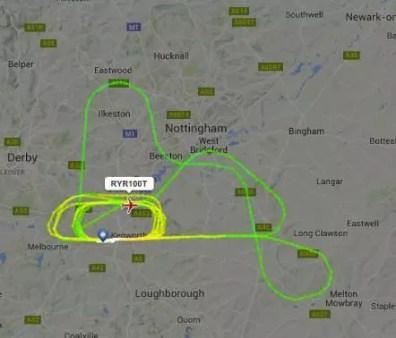 Sledování letů výcvik pilotů a kroužení