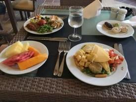 Naše večeře v hotelu Riu Karamboa, , Kapverdy ostrov Boa Vista