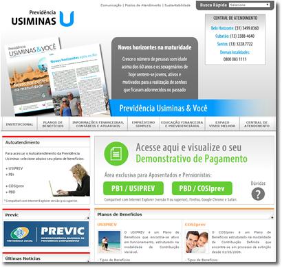 Portal Corporativo | Previdência Usiminas