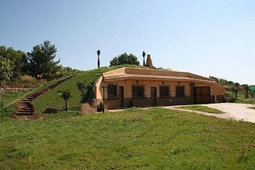 Casas ecol gicas viviendas sustentables - Construir una casa ecologica ...