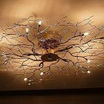L mparas de dise o iluminaci n moderna - Como hacer lamparas de techo modernas ...