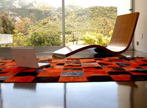 Alfombras modernas para el diseño de interiores