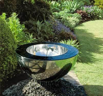 Fuentes de jardín: atractivas, estéticas y naturales