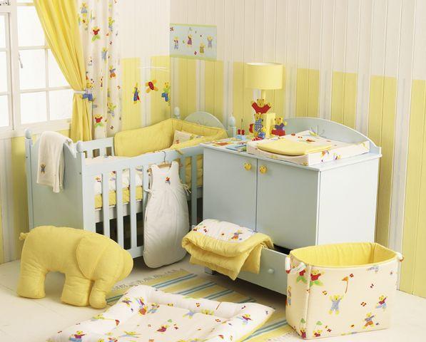 Algunas ideas para decorar un cuarto de bebé