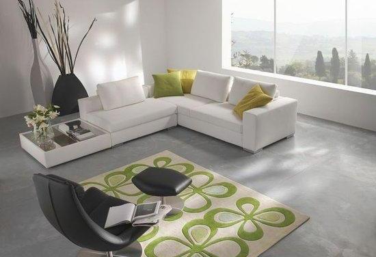 Diseño de living con estilo moderno: sencillez y comodidad