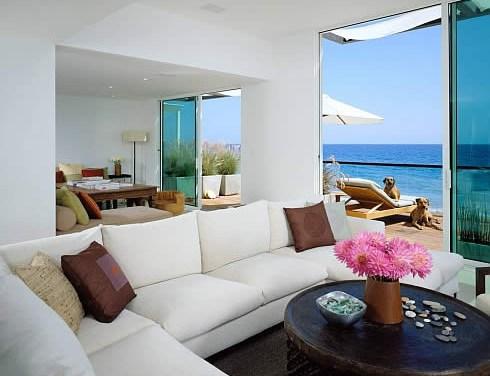 Decoración de casas de playa, frescura y relax