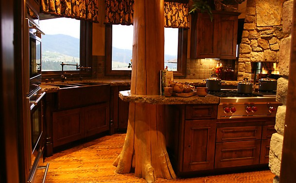 Ideas de decoración para cocinas rústicas