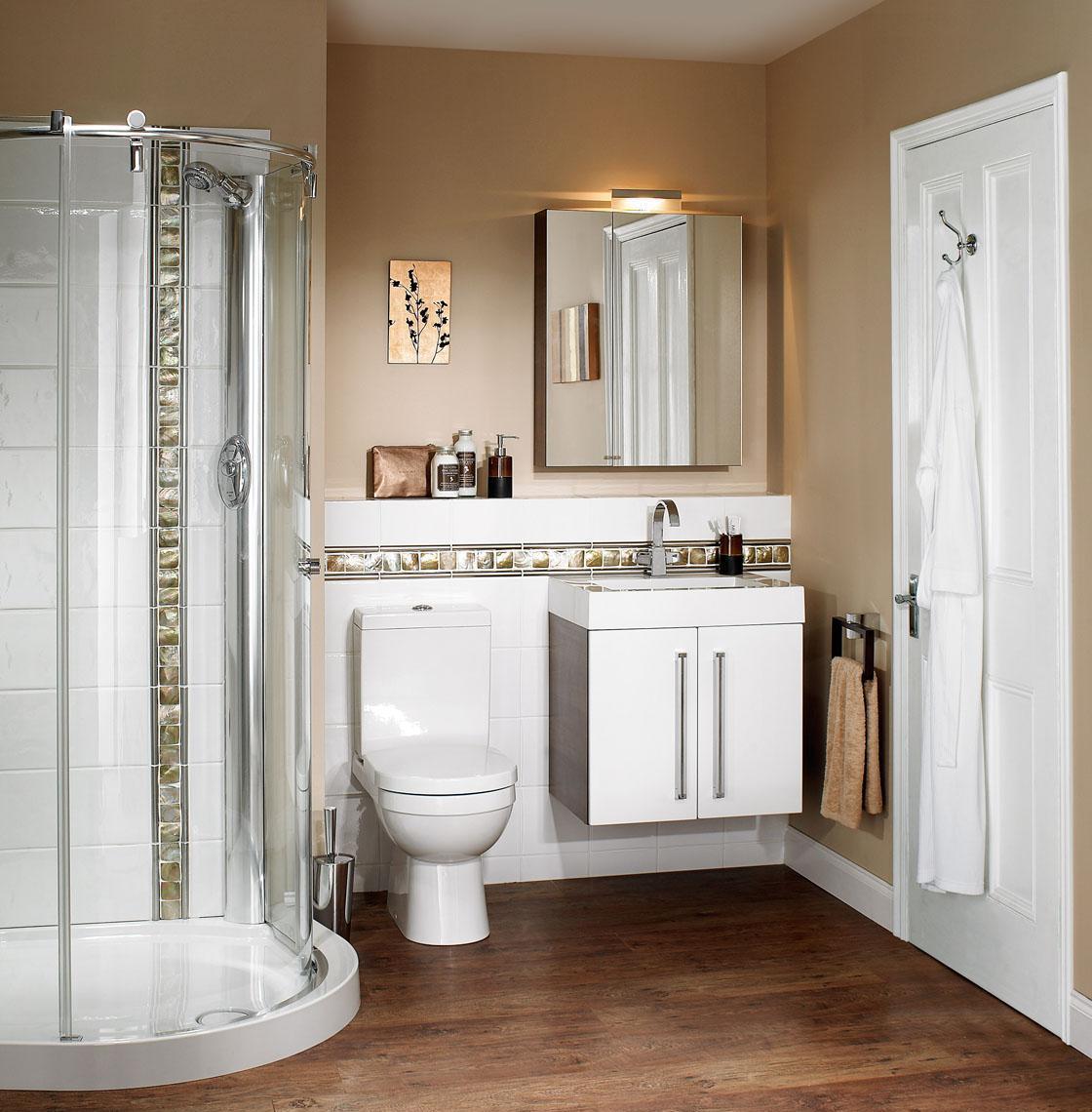 Grandes soluciones para baños pequeños