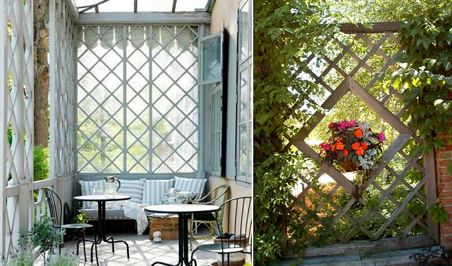 Paneles y biombos decorativos para jard n for Biombos para jardin