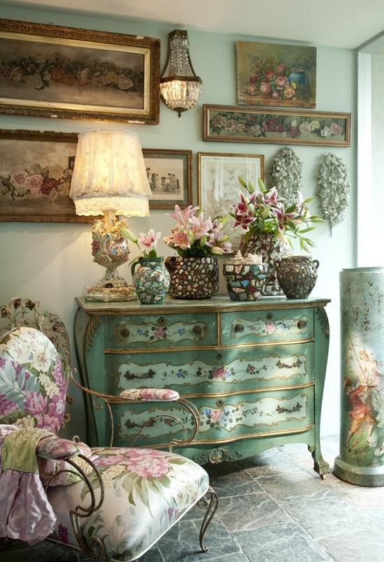 Decoraci n con muebles antiguos reciclados - Decoracion con muebles antiguos ...