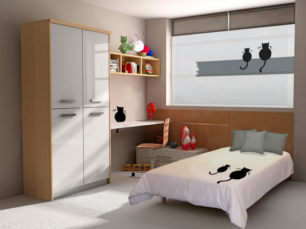 Vinilos decorativos para ventanas pr cticos y originales - Diseno de habitacion juvenil ...