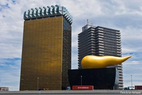 Asahi Beer Hall de Philippe Starck