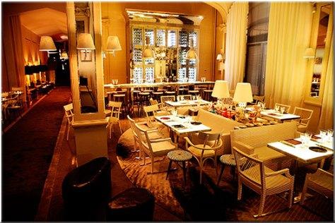 Restaurante Bon, diseñado por Philippe Starck.