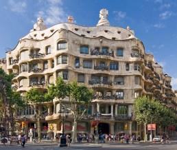 La Pedreda de Antoni Gaudí en Barcelona