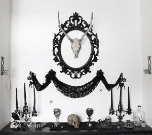 Decoración estilo gótico