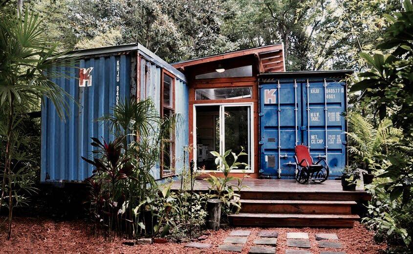 Casas de container: una opción rápida, económica y responsable con el medio ambiente.