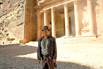 Visitar Petra por Indiana Jones