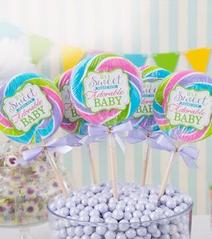toppers para organizar un baby shower