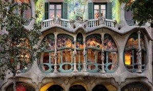 Casa Batlló de Antoni Gaudí