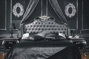 cama estilo gótico