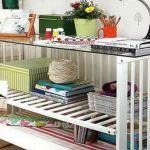 muebles reciclados con cunas