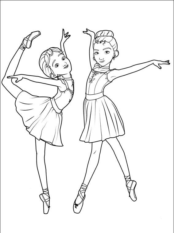 Ballerina Para Pintar Dibujos Para Imprimir Y Colorear