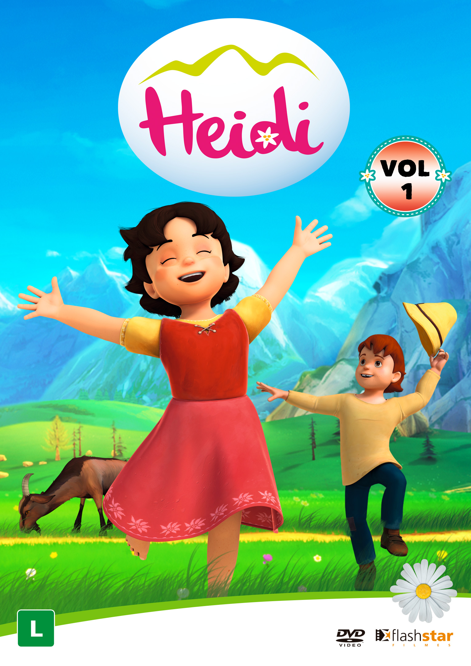 Heidi Vol 1 Video New Movies