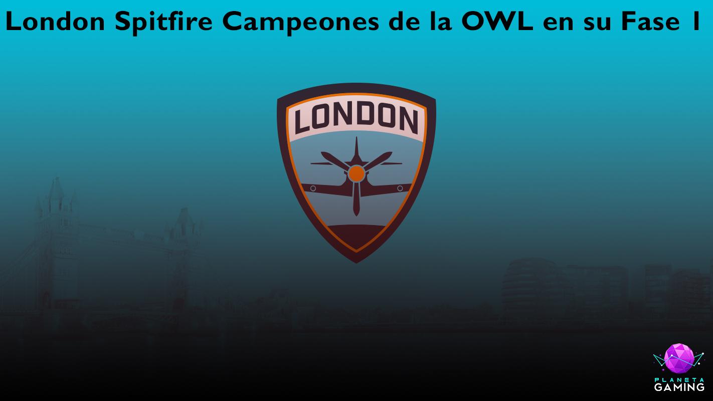 London Spitfire Campeones De La OWL En Su Fase 1 Planeta